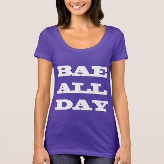 Camiseta De Bae t-shirt da colher o dia inteiro