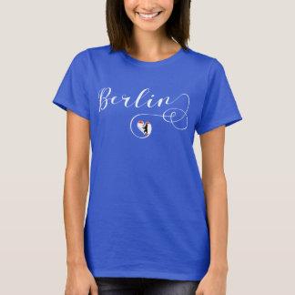 Camiseta de Berlim do coração, Alemanha, berlinês