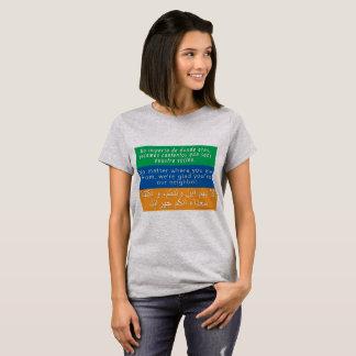 Camiseta Dê boas-vindas a seu t-shirt dos vizinhos