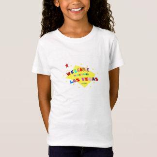 Camiseta Dê boas-vindas ao T fabuloso da boneca das meninas