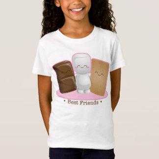 """Camiseta De """"camisa da boneca das meninas dos amigos"""