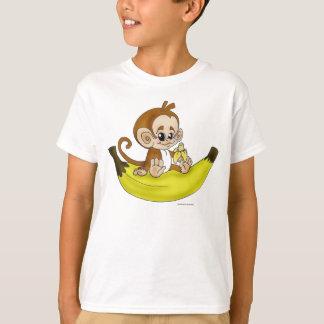 "Camiseta De ""camisa do MACACO da BANANA Chibi"""