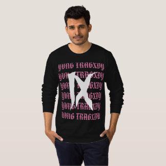 "Camiseta De ""camisa longa da luva Yvng Tragxdy"""