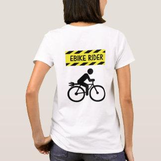 """Camiseta De """"camisetas do ciclismo do cavaleiro Ebike"""" para"""