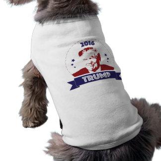 Camiseta de cão 2016 da eleição de Donald Trump