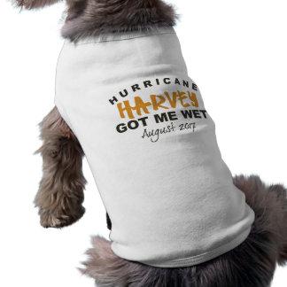 Camiseta de cão 2017 de Harvey Texas do furacão