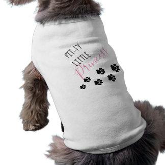 Camiseta de cão bonito