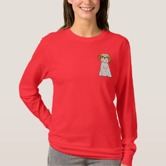 Camiseta de cão bonito CD do filhote de cachorro