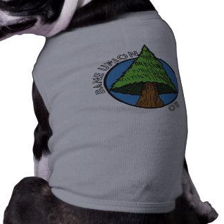 Camiseta de cão - canção da árvore da união da