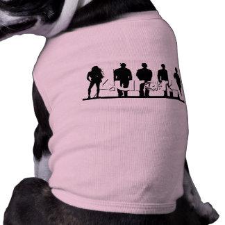 Camiseta de cão da Aurora Camisa Sem Mangas Para Cachorro