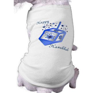 Camiseta de cão de Hanukkah