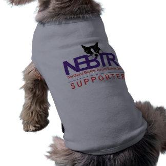 Camiseta de cão de NEBTR
