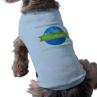 Camiseta de cão de Ridge da aventura Camisa Sem Mangas Para Cachorro