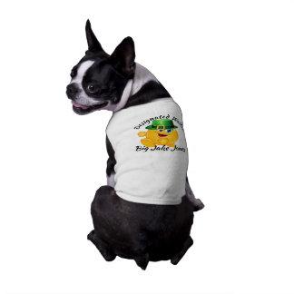 Camiseta de cão designada dia do caminhante de St