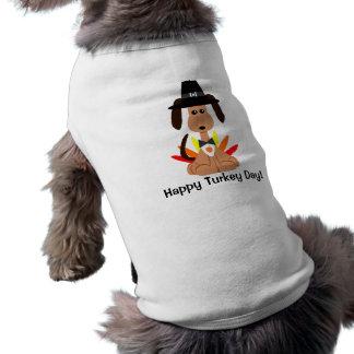 Camiseta de cão do dia de Turquia