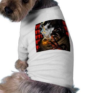 Camiseta de cão do fumo do veneno de MGSV