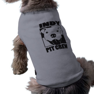 Camiseta de cão do grupo de poço de Indy