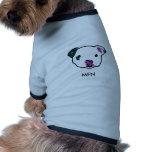 Camiseta de cão do Sr. Figo Newton Camiseta Para Caes