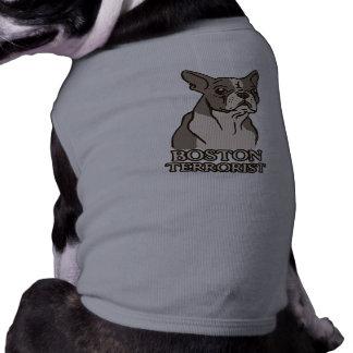 Camiseta de cão do terrorista de Boston