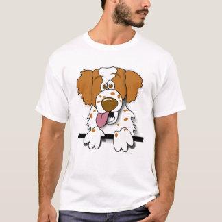 Camiseta de cão dos desenhos animados do Spaniel
