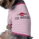 Camiseta de cão futura da Sra. Maslow! Roupas Para Cães