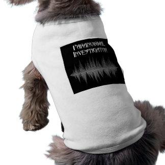 Camiseta de cão Paranormal de Soundwave do