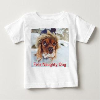 Camiseta de cão subtitulada do Xmas da foto de