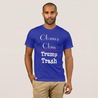 "Camiseta De ""classe Obama - lixo do trunfo """