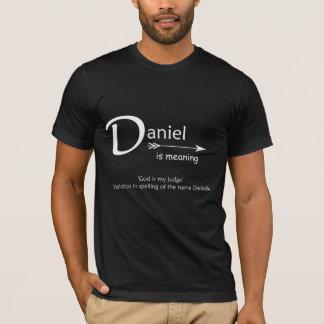 Camiseta de Daniel