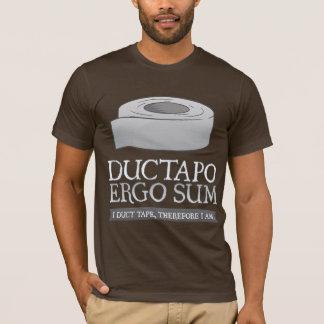 Camiseta De Ductapo soma por conseguinte.  Mim fita