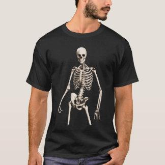 Camiseta de esqueleto arrogante