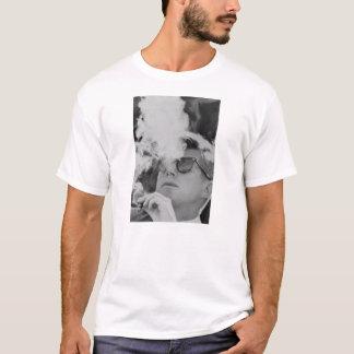 Camiseta de fumo de JFK