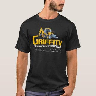 Camiseta de Griffith Constructioin (apoio da