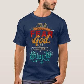 Camiseta Dê-lhe o T do gráfico da glória