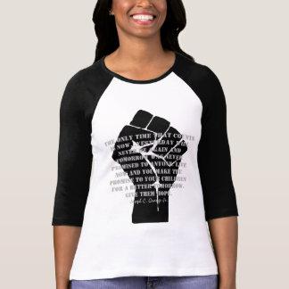 Camiseta Dê-lhes a esperança t-shirt escuro pelo Jr. da