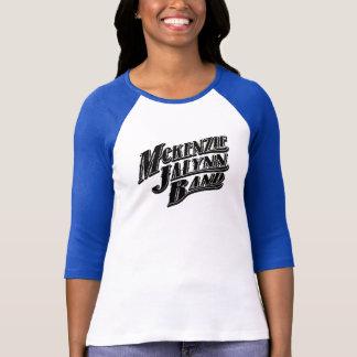 Camiseta De luva das mulheres da banda de McKenzie JaLynn a