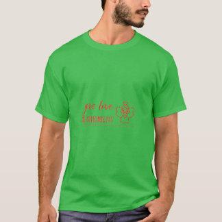 Camiseta Dê o amor no Tshirt do dia de Natal