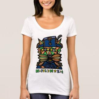 """Camiseta De """"pescoço da colher das mulheres Napoleon Kat"""""""