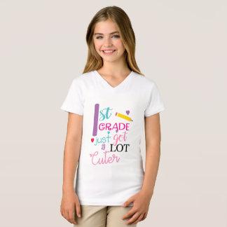 Camiseta De primeiro grau apenas obtido muito mais bonito