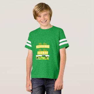 Camiseta de recordação de serra de mineral