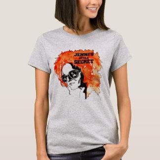 "Camiseta De ""redhead A do pouco segredo Jenni"""