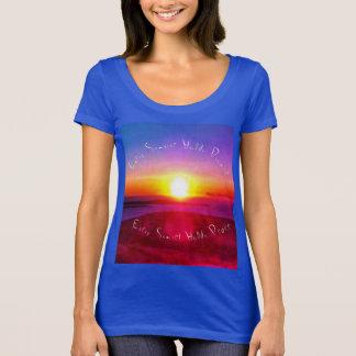 """Camiseta De """"T cada nascer do sol"""""""