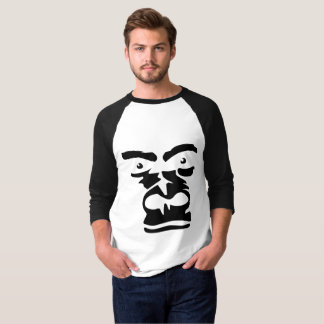 Camiseta De t-shirt básico do Raglan da luva do Gollria dos