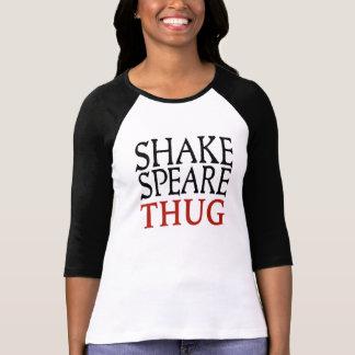 Camiseta De t-shirt da luva das mulheres do vândalo de