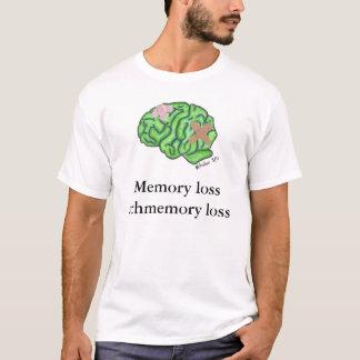 """Camiseta De """"t-shirt da perda schmemory da perda memória"""""""