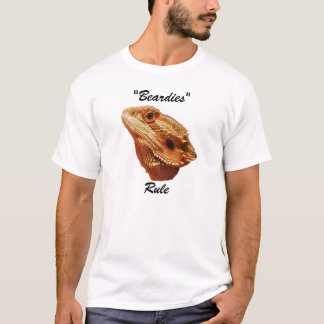 "Camiseta De ""t-shirt da regra Beardies"""