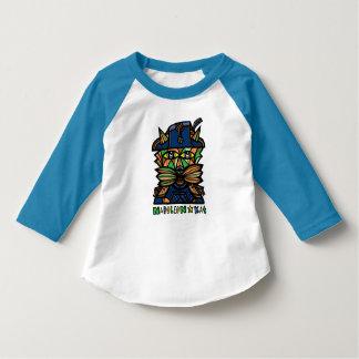 """Camiseta De """"t-shirt do Raglan da criança Napoleon Kat"""""""