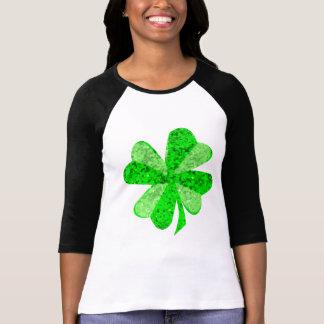 Camiseta De t-shirt do Raglan da luva das mulheres