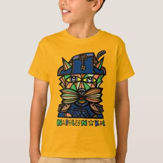 """Camiseta De """"t-shirt do TAGLESS® dos miúdos Napoleon Kat"""""""