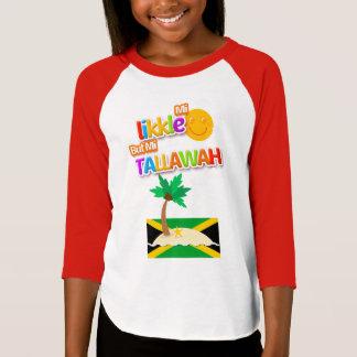 "Camiseta De ""t-shirt jamaicano Likkle Tallawah"" dos miúdos"